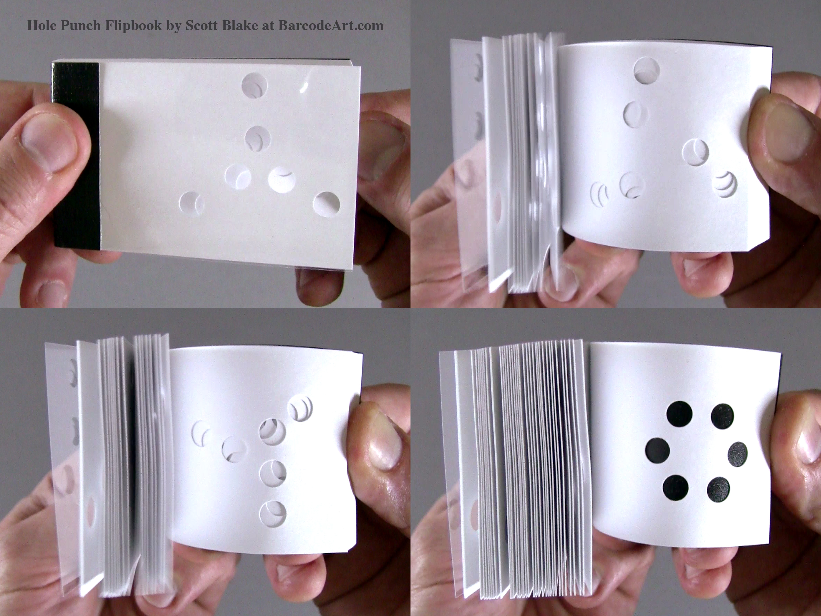 Exceptionnel Hole Punch Flipbooks by Scott Blake JF53